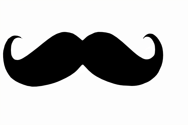 Curly man cliparts zone. Mustache clipart curled