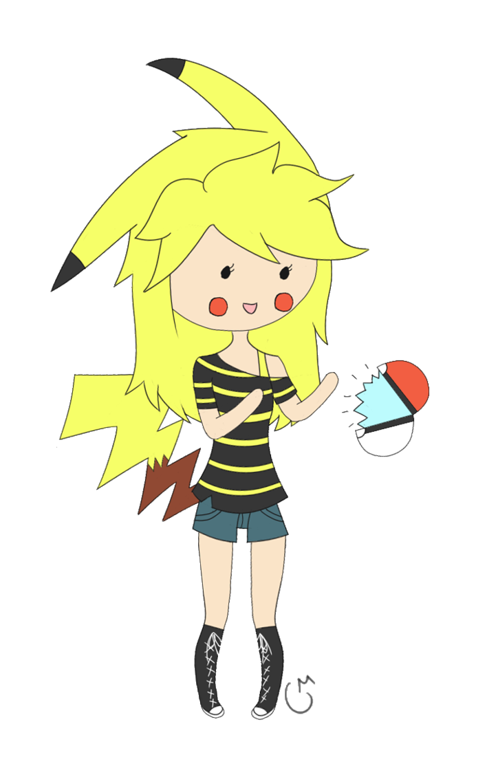 Pikachu ginjinka by on. Mustache clipart curled