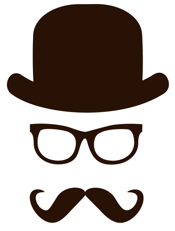 Mustache clipart glass frame. Free download images black