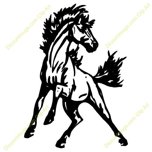 Mustang clipart. Clip art horse panda