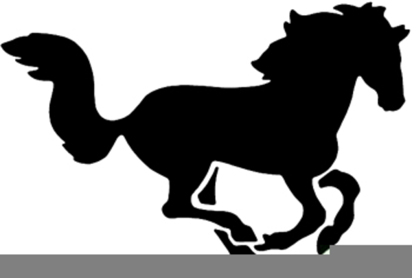 Mustang clipart. Running free images at