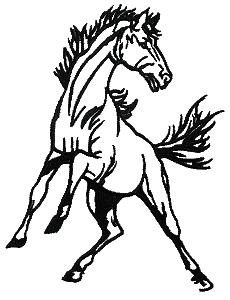 Clip art panda free. Clipart horse mustang horse