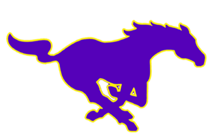 The arkansas christian mustangs. Mustang clipart central middle school