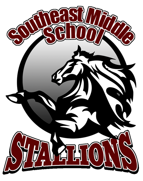 Mustang clipart central middle school. Volleyball home logo