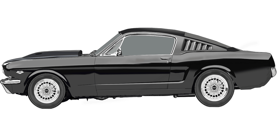 Mustang clipart mustang cobra. Vintage ford transparent png