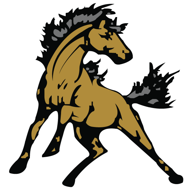Larson kimberly effingham county. Mustang clipart mustang emblem