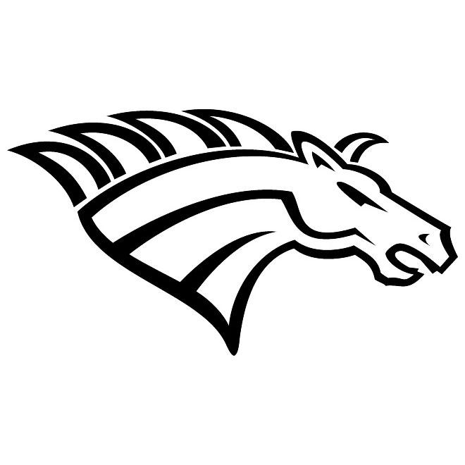 Mustang clipart mustang head.  horse clip art