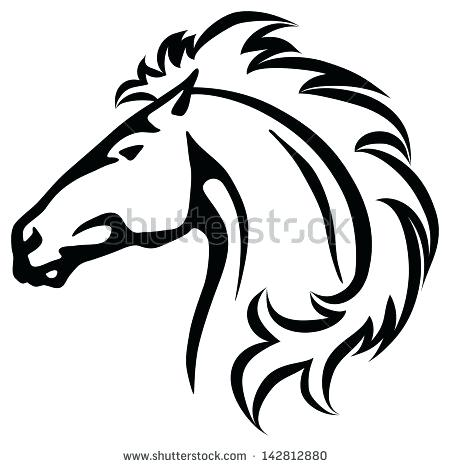 Mustang clipart mustang horse. Collection of free download