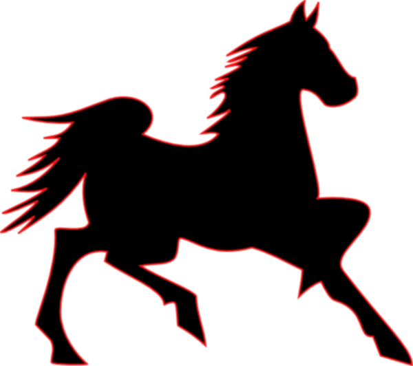 Clip art free image. Mustang clipart mustang horse