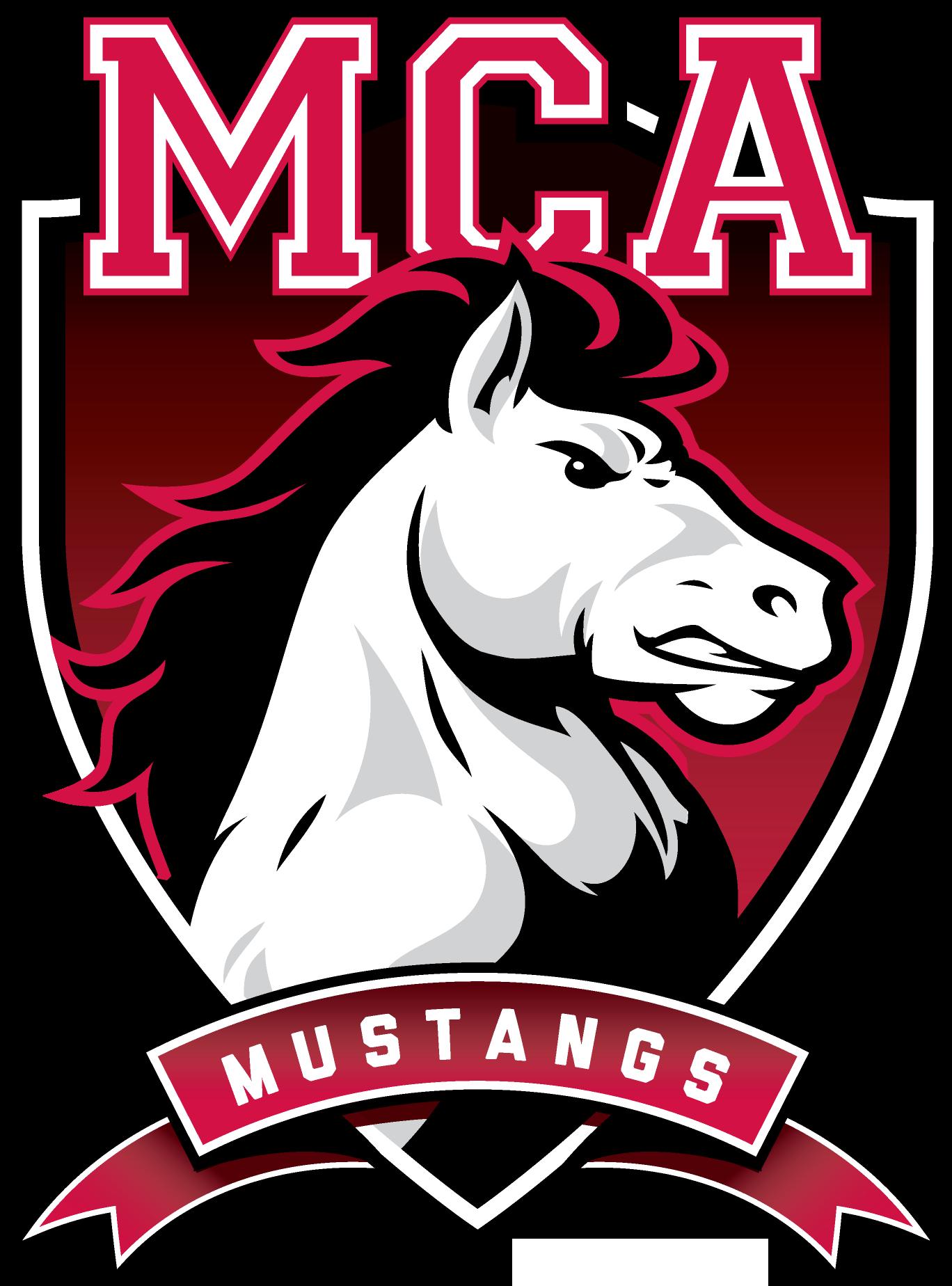 Mustang clipart mustang logo. Maranatha christian academy team