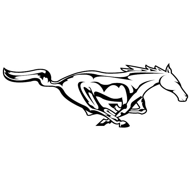 Free ford vector download. Mustang clipart mustang logo