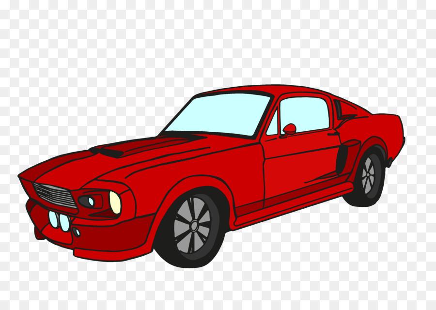 Mustang clipart sports car, Mustang sports car Transparent ... (900 x 640 Pixel)