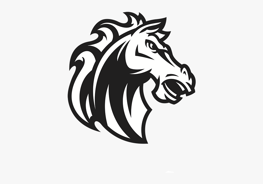 Mustang clipart transparent background. Horse logo