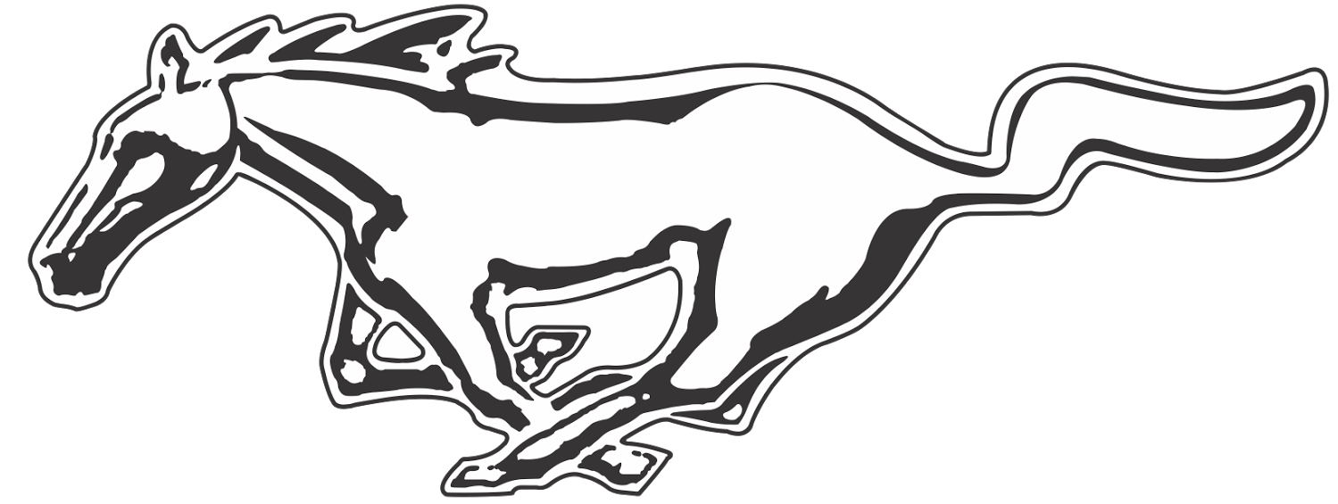 Mustang clipart transparent background. Logo png image mart