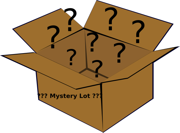 Box clip art at. Mystery clipart