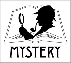 Mystery clipart icon. Clip art reading b