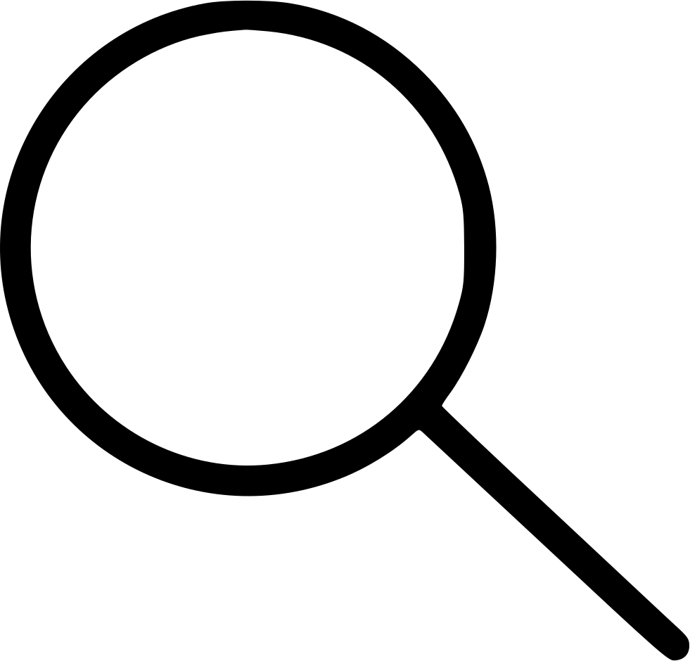 Mystery clipart magnifier. Svg png icon free