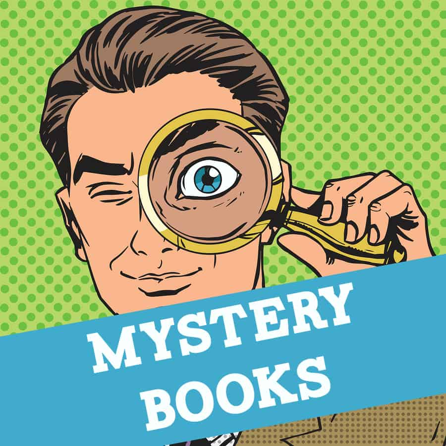 chapter books for. Mystery clipart mystery book