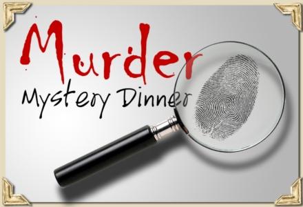 Mystery clipart mystery dinner. Murder vosh lakewood