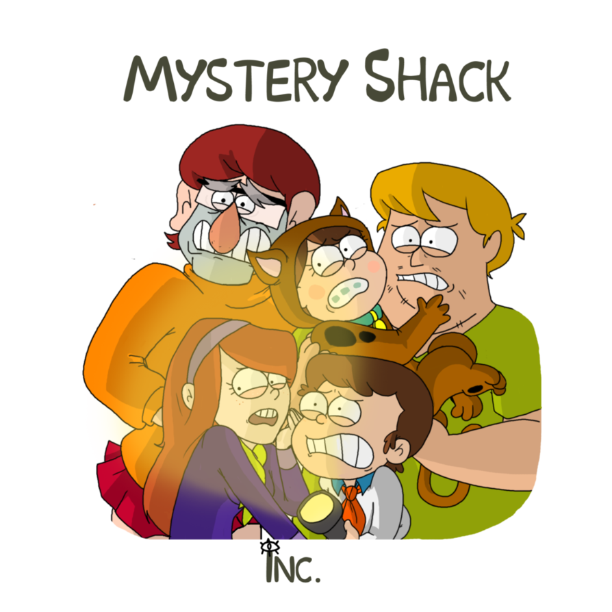 Shack inc by itsaaudraw. Mystery clipart mystery movie