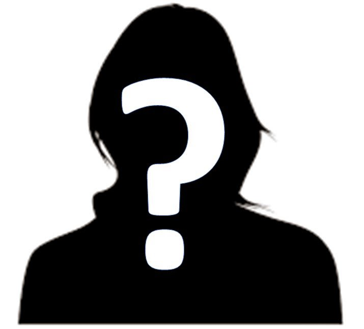 The rampage . Mystery clipart mystery person