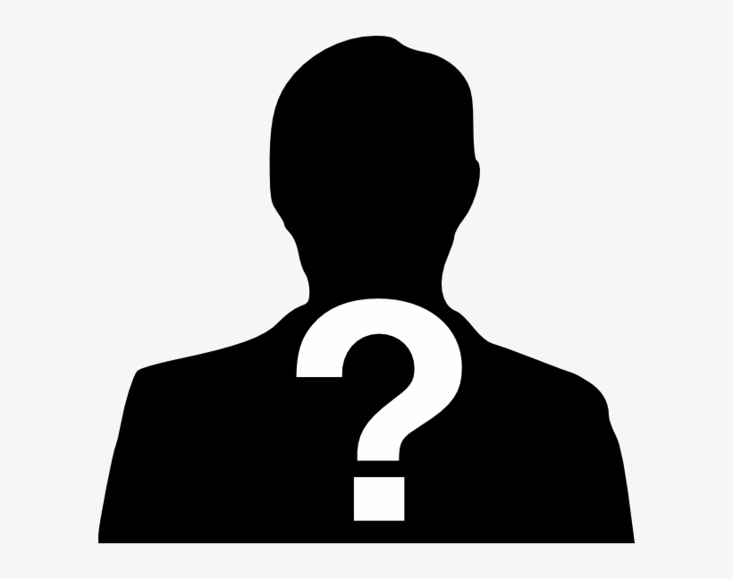 Unknown png . Mystery clipart mystery person