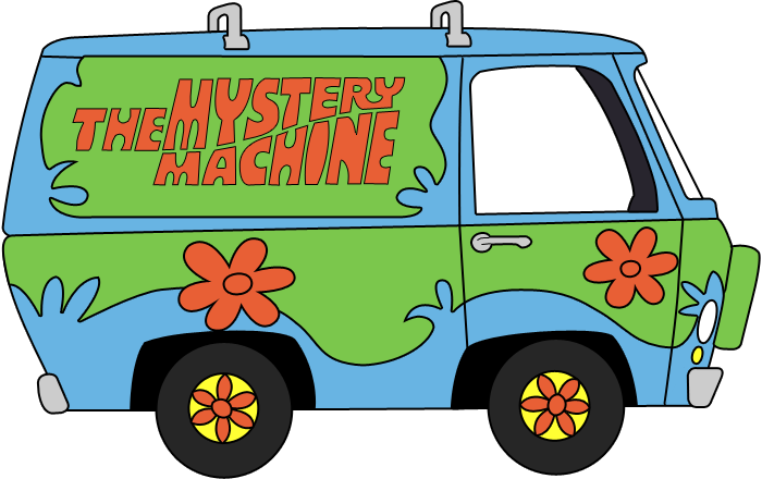 What was i thinkin. Scooby doo clipart mystery machine