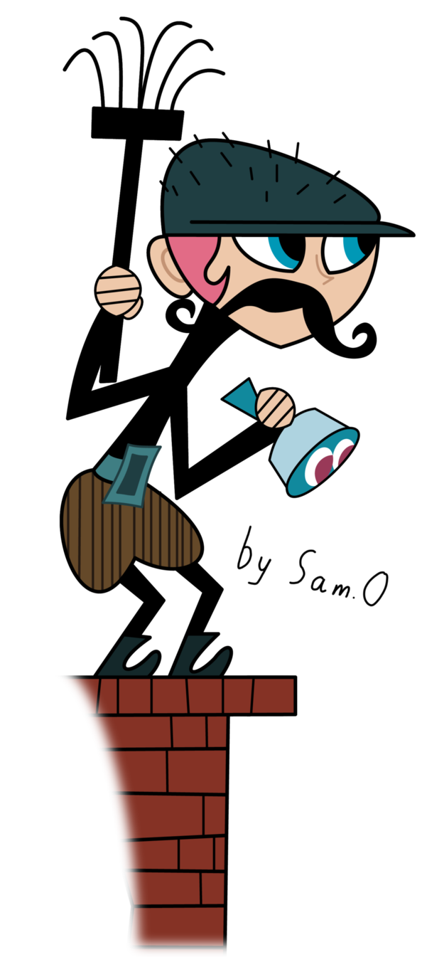 Xero chimney sweep by. Mystery clipart super sleuth