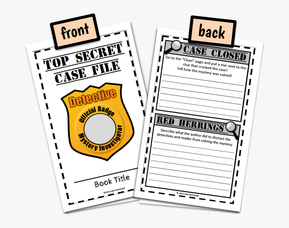 Graphic organizer free . Mystery clipart top secret