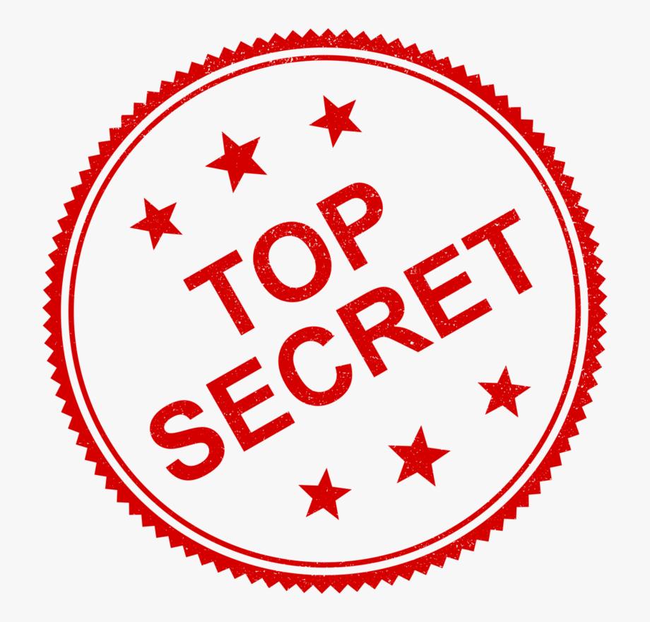 Mystery clipart top secret. Stamp transparent background