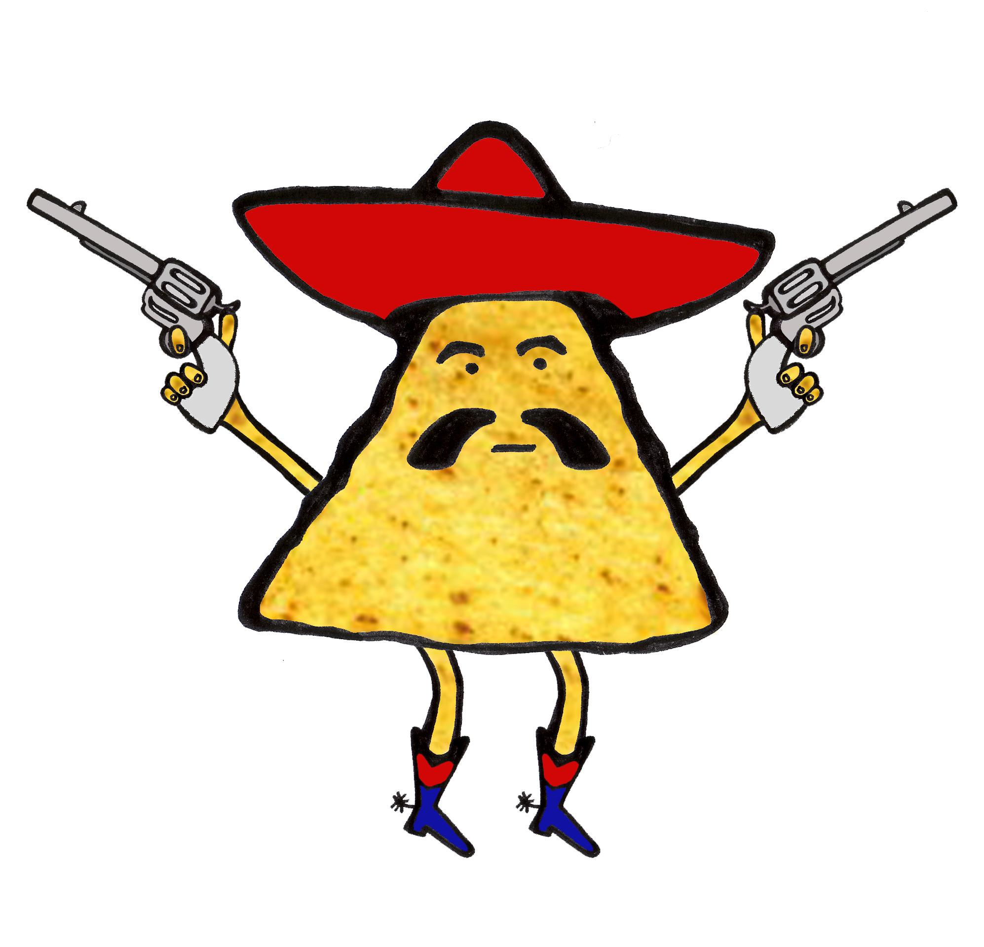 Nachos clipart. Top nacho image vector