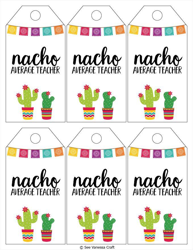 Craft average teacher gift. Nacho clipart basket