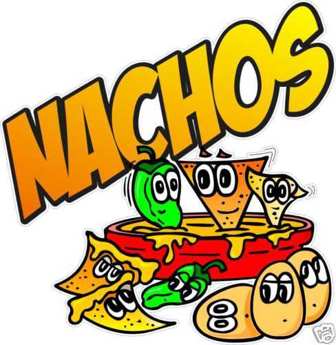 clipartlook. Nachos clipart concession stand