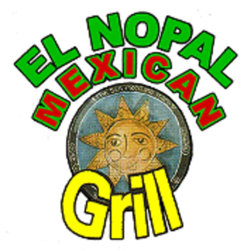 El nopal mexican delivery. Nacho clipart melted cheese