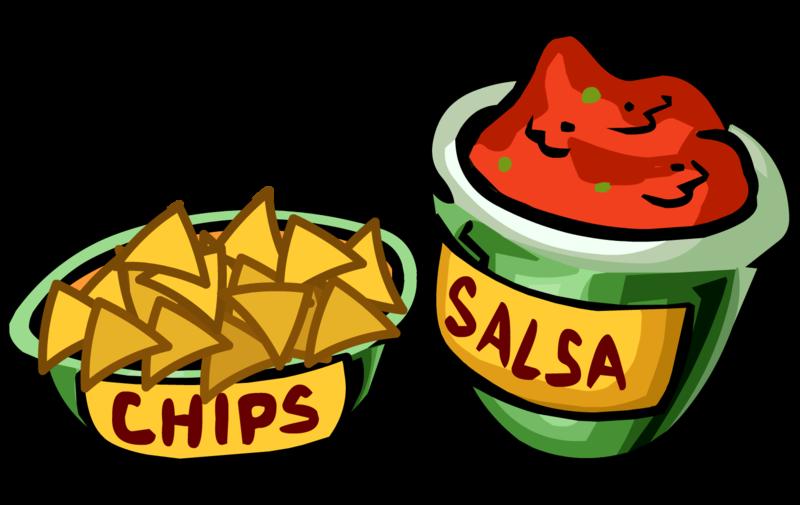 collection of salsa. Nacho clipart queso