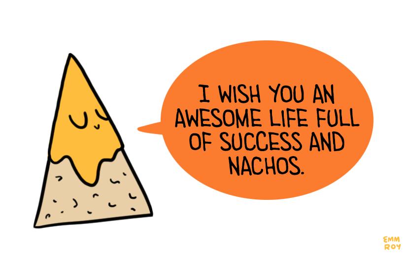 Nacho clipart single. Image description drawing of