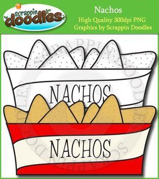 Nacho clipart single. Nachos clip art image