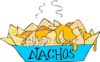 collection of chili. Nachos clipart