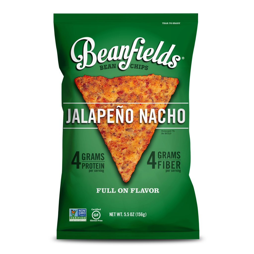 Beanfield s jalape o. Nachos clipart chip salsa