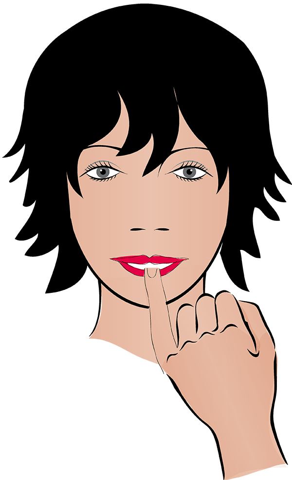 A good resolution stop. Skin clipart clean fingernail