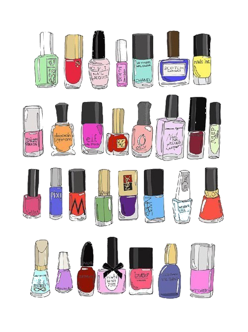 nails clipart cute nail
