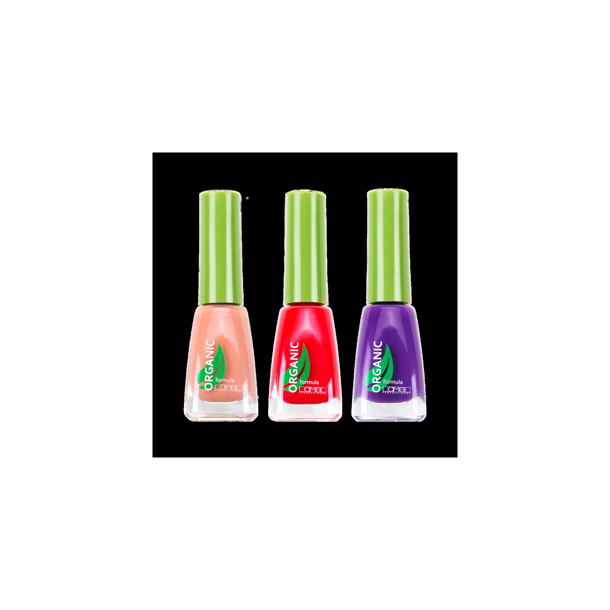Organic polish lamelcosmetics. Nail clipart cutics