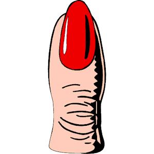 Free cliparts download clip. Nails clipart finger nail