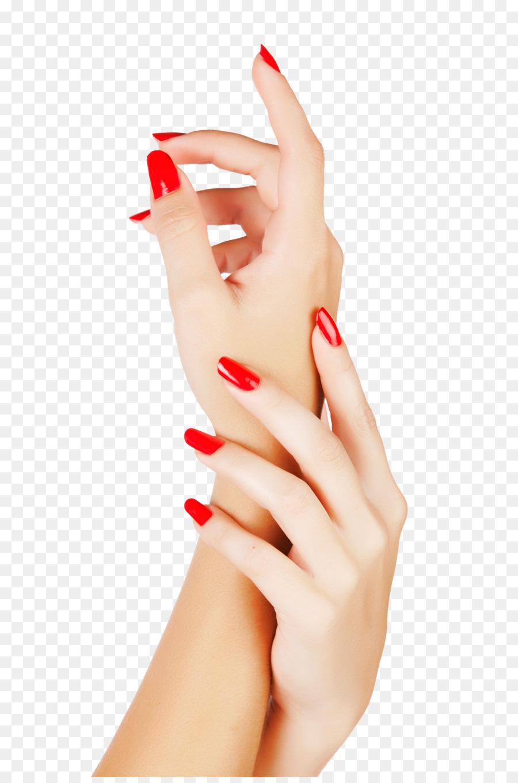 Nails clipart manicured hand. Cartoon manicure transparent clip