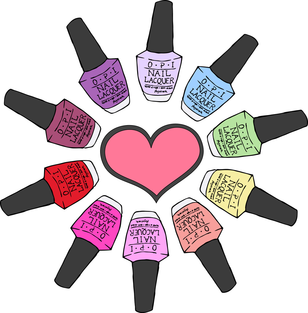 Nails clipart polished nail. Art cliparts zone