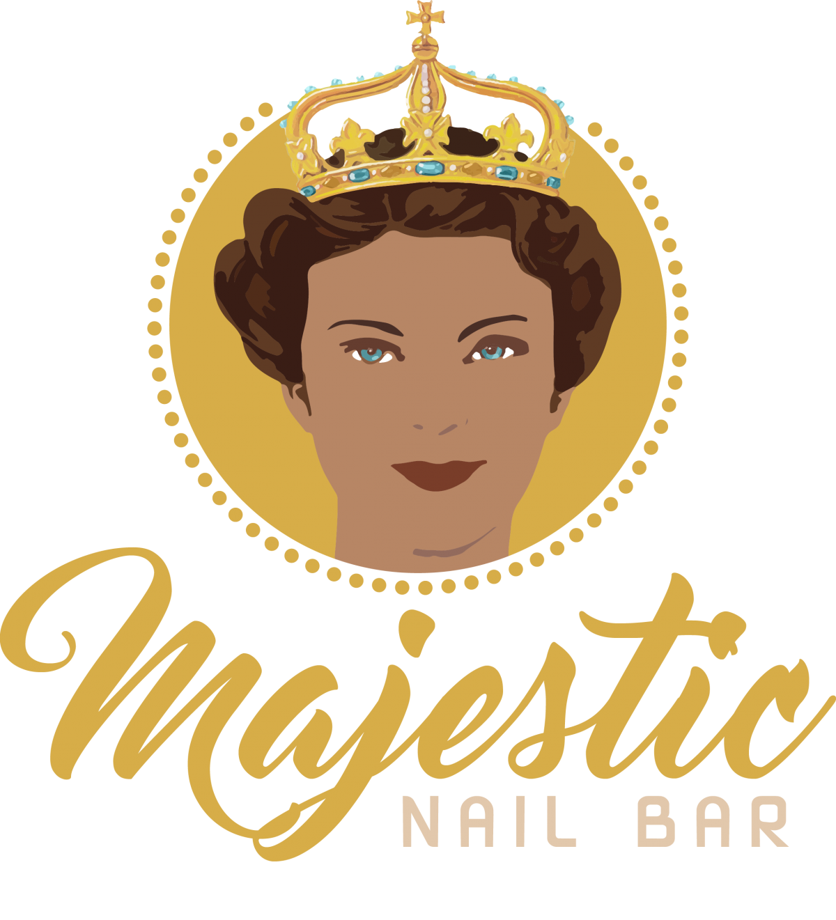 Nail clipart nail bar. Majestic