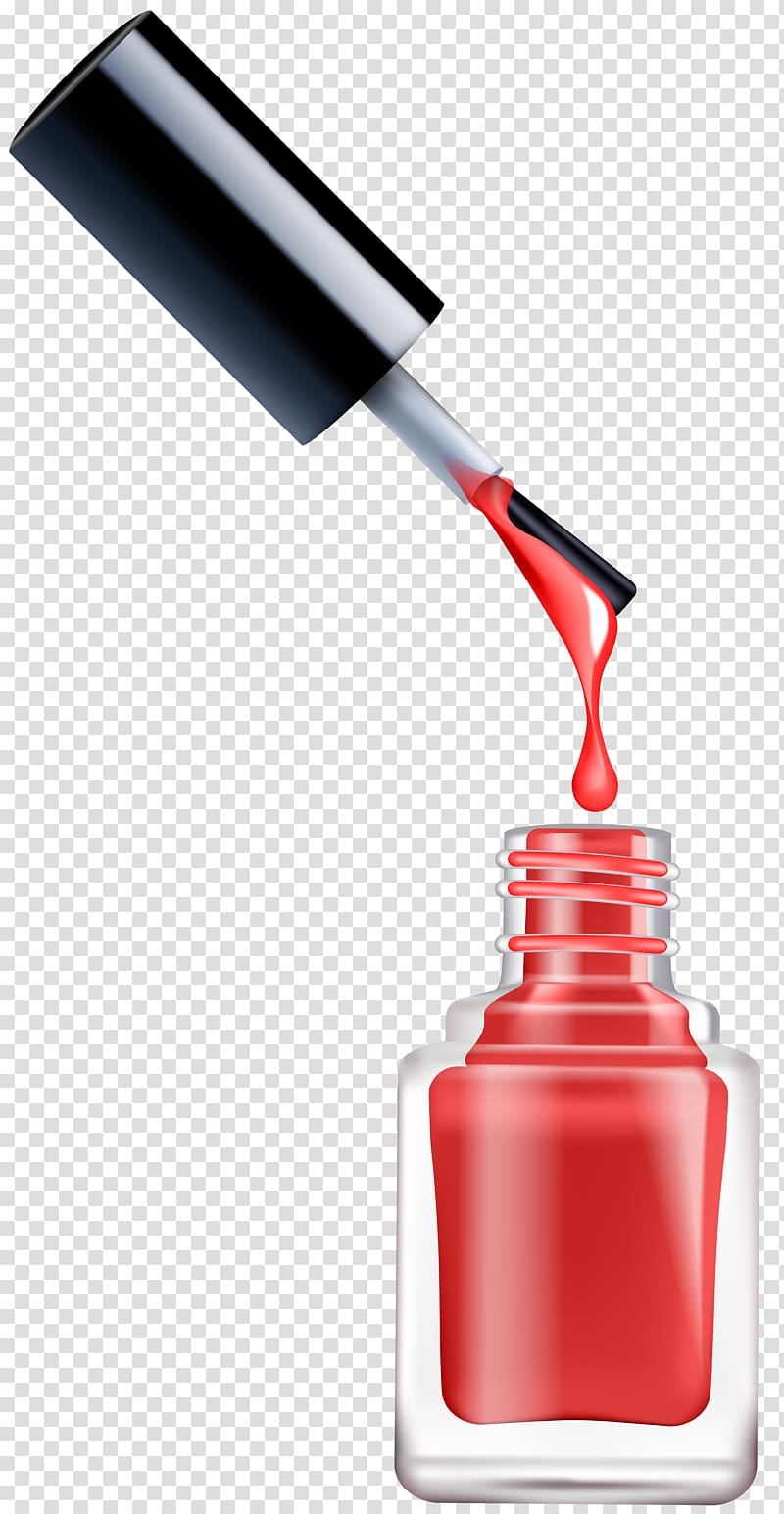 Opened pink illustration . Nail clipart nail polish bottle
