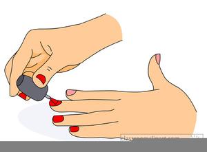 Nails clipart painting nail. Free images at clker