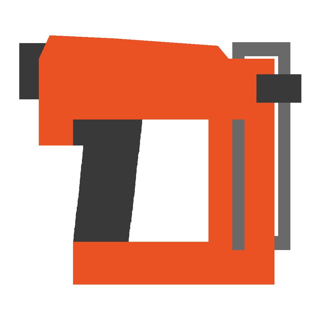 Image nailgun orange png. Nail clipart thumbnail