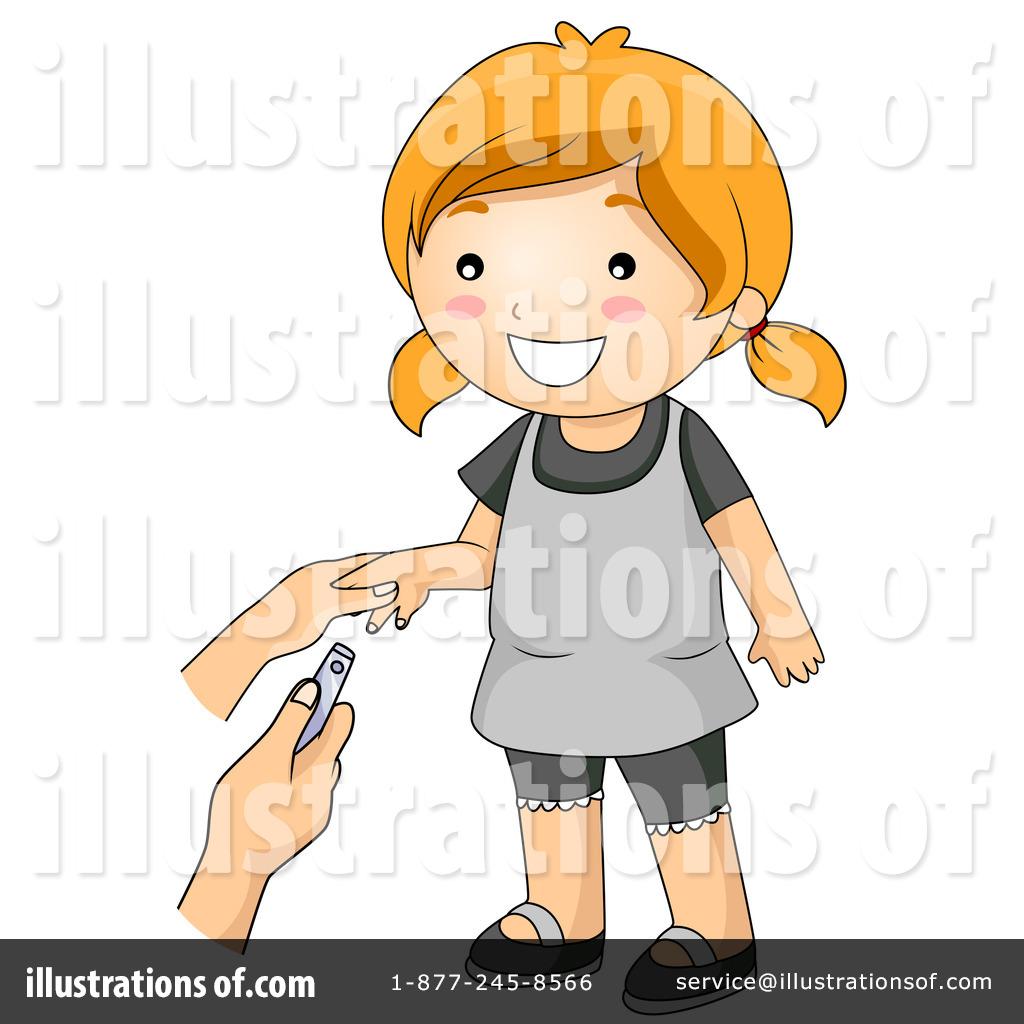 Nails clipart hygiene. Illustration by bnp design